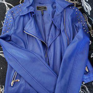 LE CHATEAU Pleather Studded Jacket